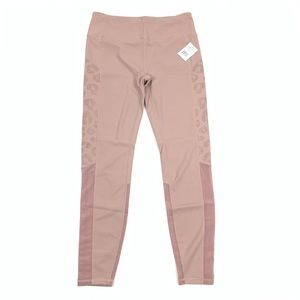 Varley High Waist Pink Leggings